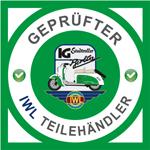 Geprüfter IWL Teilehändler