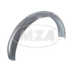 Rear mudguard - silver powdercoated - for S50, S51, S70