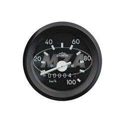 Tachometer mit Beleuchtung und ohne Kontrollleuchte - ø 60 mm - ohne Leuchtmittel.