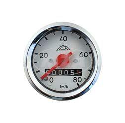 Tachometer - Ø48mm - Schwalbe KR51, SR4-2,-3,-4 -  (80 Km/h)