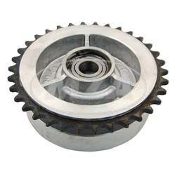 Mitnehmer  Z=34 - mit Kugellager SKF DIN625-6203 C3 - Hinterradantrieb - KR51, SR4- Typen, S50, S51, S70, S53, S83, SR50, SR80