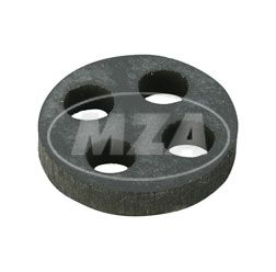 Membrane for petrol tap (GDR) 4-holes - petrol resistant, for petrol tap with water trap SR50,KR51, MZ