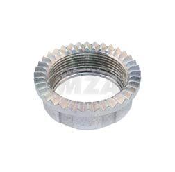 Tuning - Überwurfmutter f. Krümmer - Krümmermutter - Stahl verzinkt - (innen 32,3mm - für Krümmer 32mm) Simson