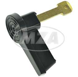 Zündschlüssel, schwarz - 8626.14/23 - lange Ausführung - nur S53N
