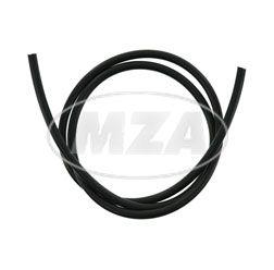 Câble d'allumage, noir, cuivre, 7 mm, PVC, longueur: 50 m en rouleau, en une seule pièce