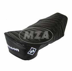 Sitzbezug SIMSON schwarz, strukturiert, wasserdicht, S51E
