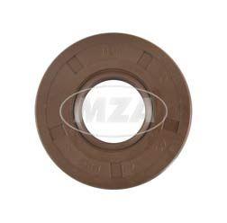 Wellendichtring NJK 17x40x07 - FPM - Viton - braun - mit Staublippe