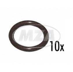 VPE 10 - O-Ring (Rundring) 10,6x1,8 - Welle zum Kupplungshebel - Simson Motor M531-743