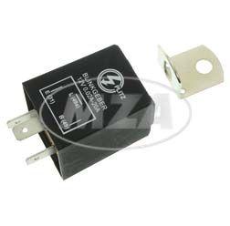 Elektronischer Blinkgeber 12V - 3-poliger Anschluß (31, 49, 49a) - 0,02- 20A - universell einsetzbar - mit Haltewinkel
