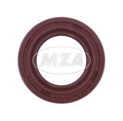 Wellendichtring NJK 17x28x7 - FPM - Viton - braun - mit Staublippe
