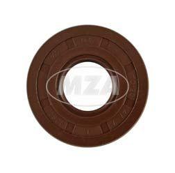 Wellendichtring NJK 20x47x7 - FPM - Viton - braun - mit Staublippe