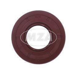 Wellendichtring NJK 22x47x7 - FPM - Viton - braun - mit Staublippe