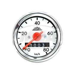 Speedometer with lighting - Ø 48mm - S50 - (new production / Original MMB) ( 80km/h)