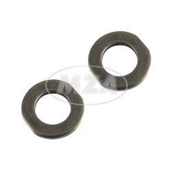 Set = 2x Anlaufscheibe 2,0mm für Kolben