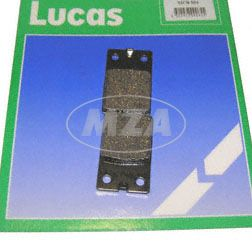 Brake pad front (pair) 2-holes MCB-564