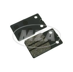 Brake pad (pair) 2-holes MCB-564