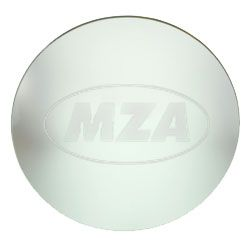 Spiegelglas, KONVEX splittergeschützt D=120mm