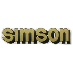 Klebefolie Simson-Tank, gold