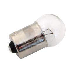 Kugellampe 12V, 10W, Sockel BA15s