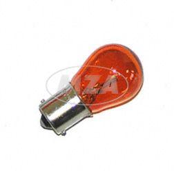 Kugellampe 12V 21W BA15s (orange)