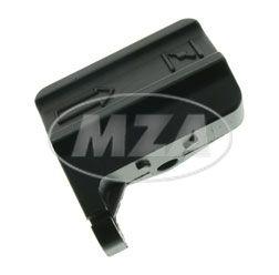 Starterzugwiderlager - mit *Pfeil* Logo -  schwarz pulverbeschichtet - S51, S53, S70, S83, SR50, SR80