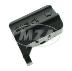 Starterzugwiderlager - mit *Start* Logo -  schwarz pulverbeschichtet - S51, S53, S70, S83, SR50, SR80
