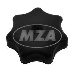 Sterngriffmutter M6 - schwarz - f. Motorabdeckung u. Haube, alle KR51, SR4-Typen - ohne Druckscheibe (MZA 10447)