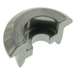 Stützringhälfte, klein (Halbschale-kugelpoliert) für Stoßdämpfer Simson Mokick/Roller