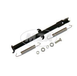 Seitenstütze - 0R-Ausführung f.19/17 Zoll  Räder - schwarz pulverbeschichtet - zweifache Federeinhängung