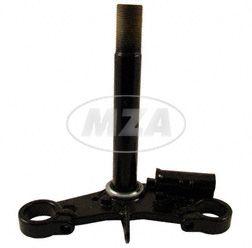 Gabelführung untere - mit Scheinwerferaufhängung - nur verwendbar mit oberer Gabelführung aus Stahlblech - S50, S51, S70