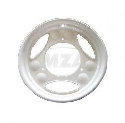 Disk wheel, rim for scooter SR50, SR80 - color: white - powder coated