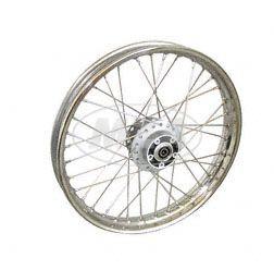 Speichenrad, 1,6x16 Zoll f. Scheibenbremse (Alu-Nabe, Edelstahlfelge, Edelstahlspeichen)