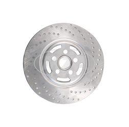 Bremsscheibe Ø 220 mm - Stahl verchromt - Simson S53, SR50