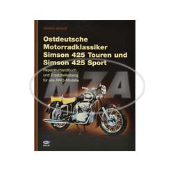 book eastgerman Motorcycle classics Simson 425   978-3-9809481-4-5