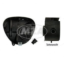 Tuning-Airbox - Gehäusemittelteil - Luftauslass ø 36mm - inkl. FILU-Tuningluftfilter + Spezial-Ansaugmuffe - für Metallseitendeckel
