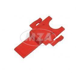 Zündschlossabdeckung, rot - zum Armaturenträger S53, S83 C, CX