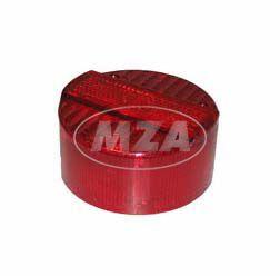 Rücklichtkappe f. Bremsschlußleuchte  ø 120 mm - rot - 3 Schrauben - Lichtaustritt  8520.26-200 - ohne 3 Zylinderblechschrauben