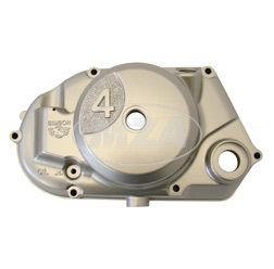 """Kupplungsdeckel SIMSON  """"""""4"""""""" lackiert silbermetallic (DZM-Antrieb) - Achtung ! nur Antriebritzel Bstnr.  11442 bzw. 11443 verwenden - Simson-Motor-Typ M500 / M700"""