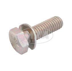 Sechskantschraube M8x25-8.8-A4C (DIN 933 Z3) - gelb chromatiert