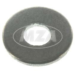 Disc washer A3,2-ST-A4R (DIN 134) - black - 3,2 x 8 - 0,5