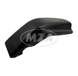 Beinschutz rechts - schwarz pulverbeschichtet mit Oberflächenschaden (Staubeinschlüsse, Orangeneffekte und/ oder leichte Kratzer) - SR50, SR80 - verzinktes Blech (DIN EN 10152/10131)