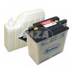 Batterie 6N11A-1B SOTEX (incl. SÄUREPAKETim Einzelkarton) S50,51, MZ ES,TS 150,250