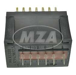 EWR 8107.10/1 - 12V, 42W, 2,5A - Elektronischer Wechselspannungsregler m. Befestigungsbohrung - SR50/1, SR80/1C, CE