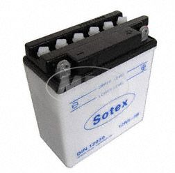 Batterie 12N5-3B SOTEX (Top Qualität) SR50,80, Roadstar, Sportstar 125 Saxon Tour, Fun 251,301