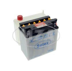Batterie 12N9-4B-1 SOTEX (incl. SÄUREPAKETim Einzelkarton)