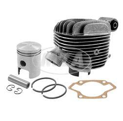 SET Zylinder kpl. + Zylinderkopf Schwalbe KR51/1, 63ccm, kpl mit Kolben K20 - Ø45mm