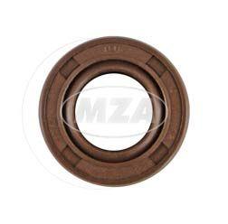 Wellendichtring NJK 12x22x7 - FPM - Viton - braun - mit Staublippe