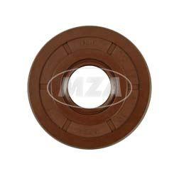 Wellendichtring NJK 17x47x10 - FPM - Viton - braun - mit Staublippe