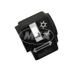 Gehäusehälfte hinten - Schalterkombination - S51,S70, S53, S83, SR50,SR80 - passend für MZ TS, ETZ
