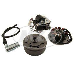 SET Umrüstsatz Vape (M-G) Roller SR50, SR80 auf 12V 35/35W (ohne Batterie, Leuchtmittel)